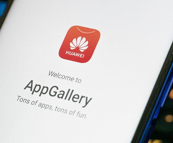 Huawei AppGallery ehk Huawei enda rakenduste pood.