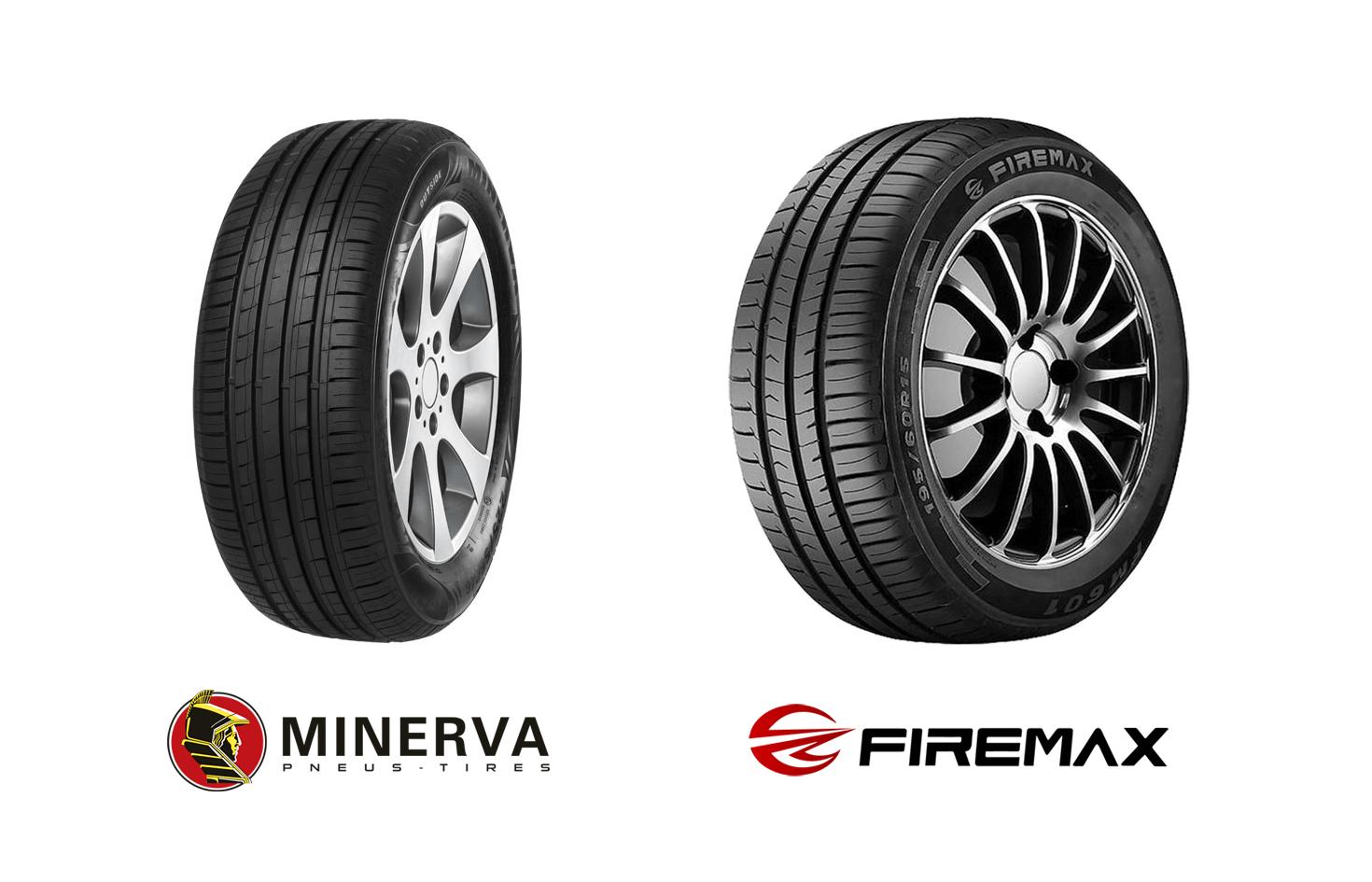 Minerva F209 ja Firemax FM601.